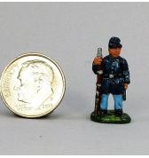Infantry Standing Guard painted as Union