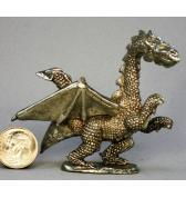 Medium Dragon pewter