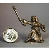 Female Wizard pewter