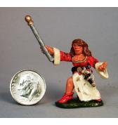 Female Wizard painted