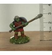 Goblin with Spear and Shield Back painted