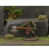 Orc with 2 Handed Axe painted