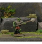 Orc with Mohawk and Spear painted