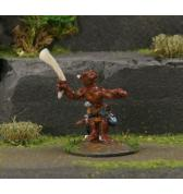 Kobold with Spear painted