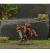 Kobold Leader with Sling and Sword painted