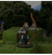 Gnoll with Longbow painted