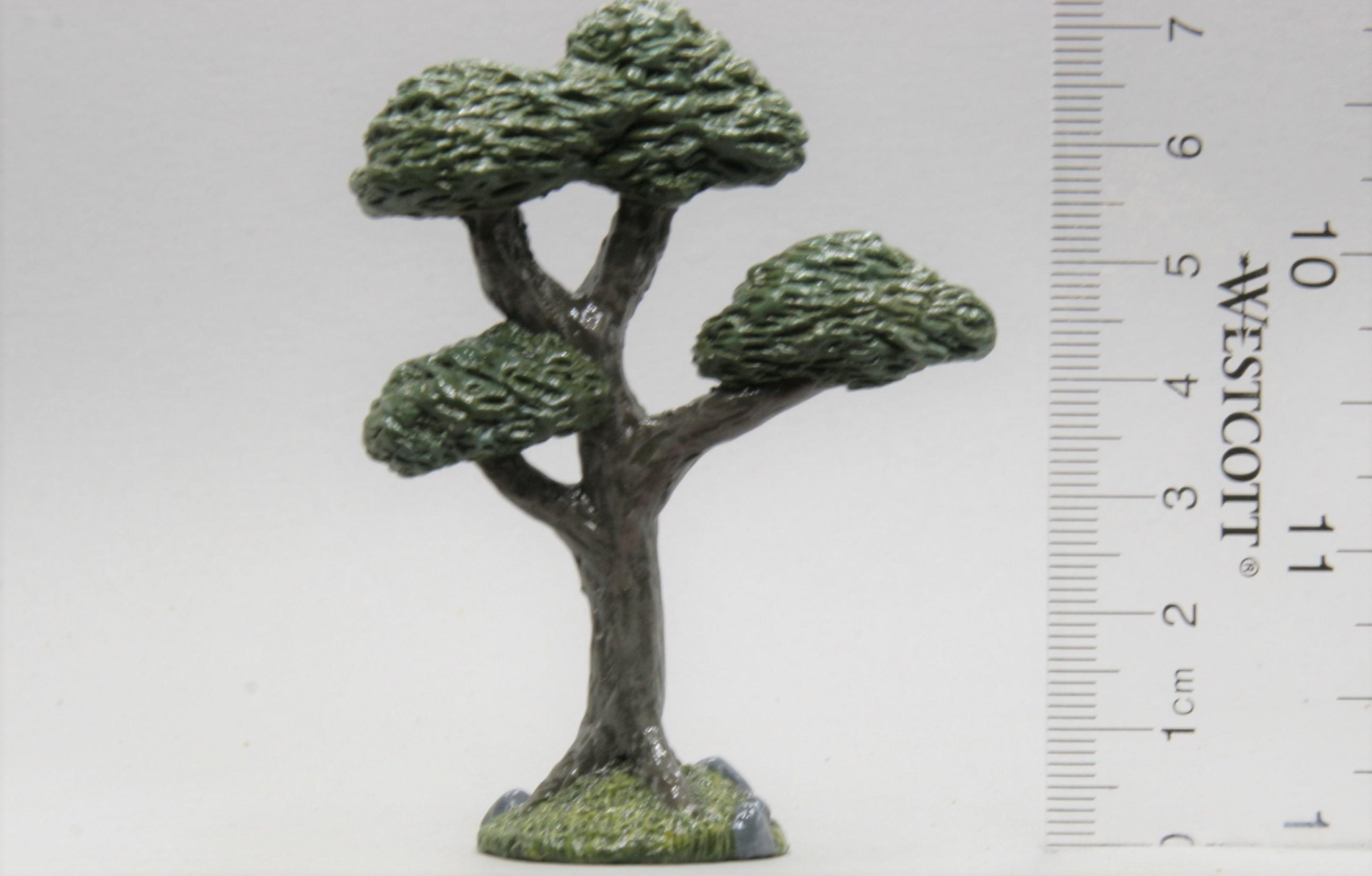 Tall Tree painted